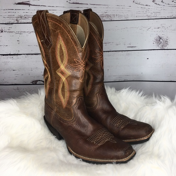 62144fda8e9 Ariat Cowgirl Cowboy Western Round Up ll Boots